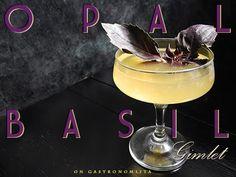 Gastronomista: Opal Basil Gimlet