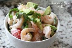 Mix and Match Mama: Avocado and Shrimp Salad