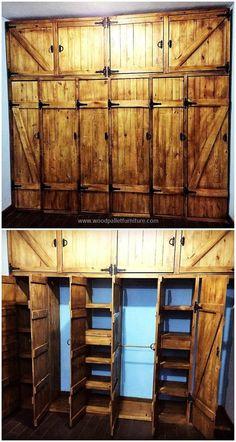 wooden-pallets-vintage-closet