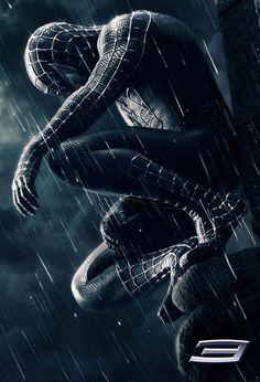 Spider Man 3 Dark Poster