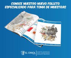 Los invitamos a conocer nuestro folleto especializado para toma de muestras. #elcrisol #loencuentroenelcrisol #elcrisolmeayuda #muestras #materialesdelaboratorio