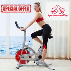 Exercise Bike Upright For Home Stationary Lose Weight Fitness Machine Men  Women 49488687a1