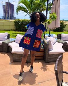 """Today we bring to you, """"Spunky Ankara Styles to Rock."""" Ankara styles is one of the most important outfit in the fashion community. These gowns looks auspicious that's why we bring them to you. Latest Ankara Dresses, Short African Dresses, Ankara Dress Styles, Short Gowns, African Print Dresses, Ankara Gowns, African Prints, African Fabric, African Fashion Ankara"""