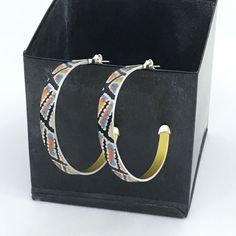 Yumari Dreaming large hoop earrings | Crowded Silver Jewellery Sterling Silver Hoops, Silver Hoop Earrings, Silver Jewellery, Jewelry Design, Unique Jewelry, Jewelry Collection, Pairs, Pendant
