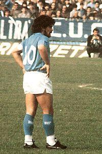 Diego Armando Maradona - « Voglio diventare l'idolo dei ragazzi poveri di Napoli, perché loro sono come ero io a Buenos Aires. »