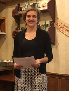 "OTTAWA — Ottawa-Glandorf senior, Katie Fuetter, is the 2017 Putnam County Optimist Oratorical Contest winner. This year's topic was, ""What the world gains from optimism.""    Fuetter will move to the regional competition to be held at UNOH on April 8th."