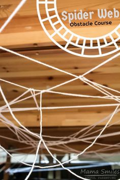 I Can't Wait To Try This With The Kids This Spider Web Obstacle Course Is The Perfect Rainy Day Activity For Kids. I Love That It Also Develops Planning And Gross Motor Skills. The Post Includes More Great Spider Themed Learning Activities For Kids. Rainy Day Activities For Kids, Rainy Day Fun, Educational Activities For Kids, Gross Motor Activities, Movement Activities, Gross Motor Skills, Halloween Activities, Autumn Activities, Toddler Activities