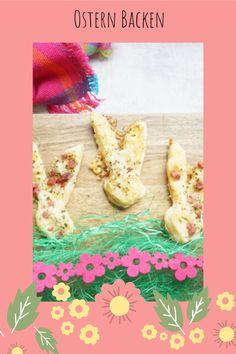 Osterrezepte für kleine Kinder ohne Zucker - Blätterteighasen süß und herzhaft - in nur 10 MInuten gemacht. Schnell und einfach!  #ostern #backen #rezept Baby Led Weaning, Parmesan, Pineapple, Fruit, Food, Snacks, 3 Ingredients, Little Children, Homemade