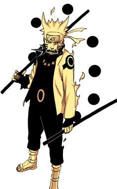 Uzumaki Naruto with Rikudō Senjutsu