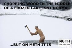 """Funny """"This Is Not Normal"""" Meth Memes pics) Funny As Hell, Wtf Funny, Hilarious, Funny Memes, Funny Shit, Funny Stuff, Drug Memes, Drug Quotes, Recovery Humor"""