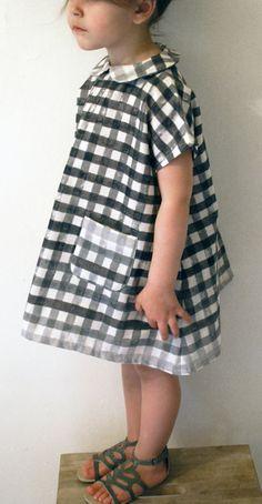 vestido xadrez: inspiração