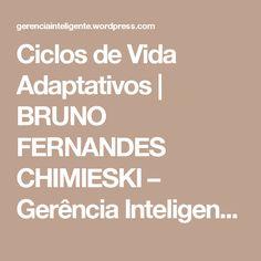 Ciclos de Vida Adaptativos | BRUNO FERNANDES CHIMIESKI – Gerência Inteligente – Eng. Bruno Fernandes Chimieski