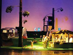 Atta Atta - Die Kunst ist ausgebrochen, Volksbühne Berlin, 2003 Regie: Christoph Schlingensief, Bühne: Mascha Deneke