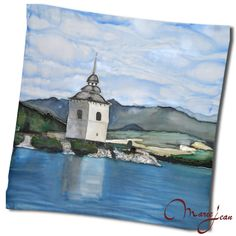 Hodvábna šatka LIPTOVSKA MARA - www.kozeny.sk Painting, Art, Luxury, Art Background, Painting Art, Kunst, Paintings, Performing Arts, Painted Canvas