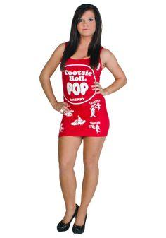 Rasta Imposta Coca Cola Tank Dress Adult Costume 4482 | Costumes ...