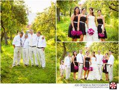 My wedding party! Courtesy of JGD Design Photo