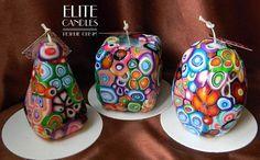 Mooie kaarsen gesneden kaarsen Сandles cadeau unieke