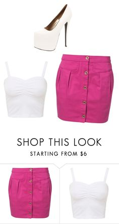 """Untitled #3756"" by ania18018970 ❤ liked on Polyvore featuring even&odd and Boohoo"