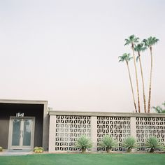 Palm Springs- those windows remind me of my uncles old house in Fort Lauderdale. Loved that walkway...