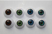 Apto para 20 Polegadas Bebês Reborn Boneca Kits 20mm Metade Brinquedos Olhos redondos Acrílico Boneca Olhos 6 Cores Diferentes Podem Ser escolhido(China (Mainland))