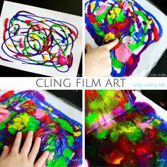 Cling Film Art