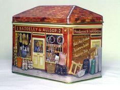 Vintage Tin Box - Like the Swan Bakery tin!