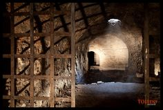 Cueva en el Museo del Greco, Fotografía de #Toledo secreto. www.quijoteworld.com