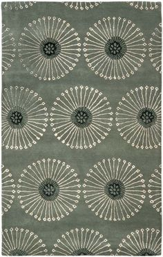 thought this was a piece of fabric, but it's a rug...love it!!  Color and pattern could be applied to so many artistic endeavors