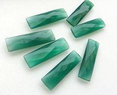 WHOLESALE 6 Pcs Green Crystal Quartz Green by gemsforjewels