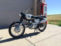 1966 Honda CL160 Scrambler 160cc w/4spd transmission