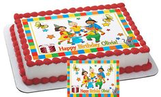 Caillou Edible Cake & Cupcake Topper by CakeTopperSpecialist