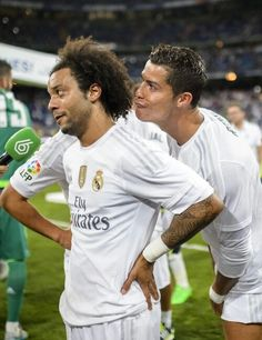 Marcelo and Cristiano Lol