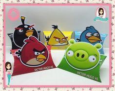 Caixa Travesseiro - Angry Birds