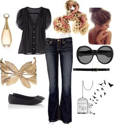 """dressy casual"" by mistygutierrez on Polyvore"