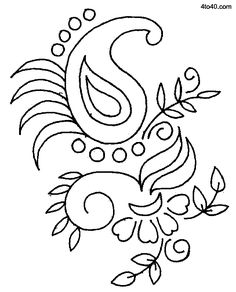 Sarika Agrawal Embroidery Designs – 2017 Floral Embroidery Design at 4to40.com via Google. Image  Only. jwt