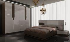 Ankara Modern Yatak Odası Takımı