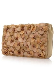 Fantais Embroidered Clutch