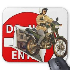 KL250 Super Sherpa Mouse Pad