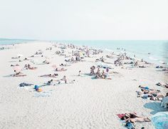 Endless Summer: Inspired by Massimo Vitali's Beach Photography