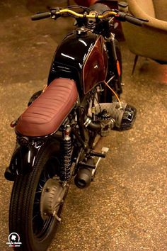 MOTOeTUTTOiLRESTO: Special: BMW R100 Parsifal by Café Twin
