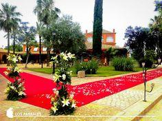 Entrada invitados – Hacienda Los Parrales