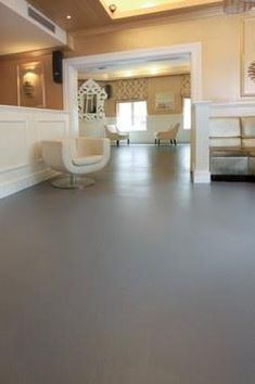 How To Paint Cement Floors That Have Been Painted Stained Or Coloured Are Increasingly Earing In Homes Trendy Restaurants Retail S