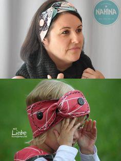 Ein klassisches Stirnband für groß und klein - Nähanleitung via Makerist.de