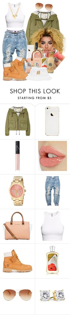 """Song : ""This is how we do it"" Montel Jordan"" by loyalartist607 ❤ liked on Polyvore featuring Aubin & Wills, NARS Cosmetics, Michael Kors, Tommy Hilfiger, OneTeaspoon, H&M, Timberland, Juicy Couture and Breezy Excursion"