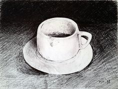 Cup of Coffee by keramekis on DeviantArt Coffee Cups, Tea Cups, Painting Gallery, Deviantart, Inspiration, Biblical Inspiration, Coffee Mugs, Tea Cup, Inspirational