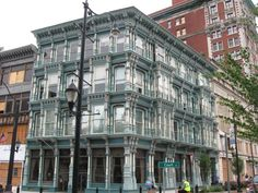 binghamton ny   Exhibit B: this cast-iron building designed by Isaac Gale Perry, for ...