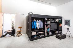 Muebles multifunción con cama