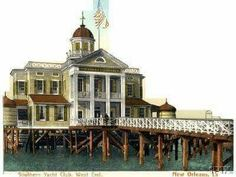Old Southern Yacht Club postcard.