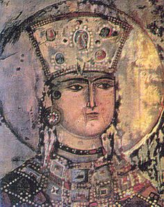Early in the 12th century, the Georgian king David the Builder donated several precious stones to the icon while his successor Demetrius I had the icon, already revered as miraculous, transferred to the Gelati monastery near Kutaisi, western Georgia, where it was further refurbished and set in a gold frame with gilded silver wings under Queen Tamar. According to the medieval Georgian chronicles, Tamar particularly honored the icon.