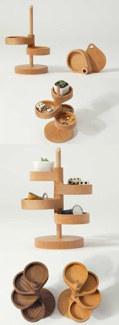4 Tier Wooden Office Desk Organizer We are want to say thanks if you like to sha. Wooden Crafts, Diy And Crafts, Woodworking Plans, Woodworking Projects, Woodworking Workshop, Woodworking Shop, Diy Tumblr, Office Gifts, Desk Gifts